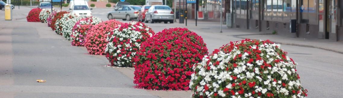 Blomsterarrangemang Hultsfred